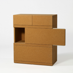 'Simple Boxes' Shelf by Martin Szekely, 2009, Image courtesy of Galerie Kreo