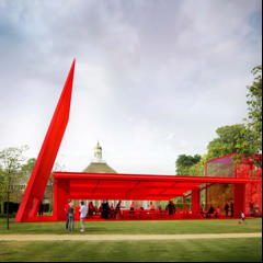 Serpentine Gallery Pavilion 2010 designed by Jean Nouvel
