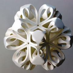 Richard Sweeney - Paper Sculptures, New Designers