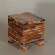 Stacked Scrapwood Stool by Piet Hein Eek