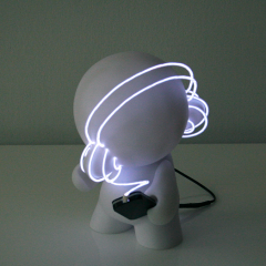 'DJ nomiS' Lightbot by Marcus Tremonto, 2010