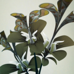 Prototypes from the Flowers series by Daniel Brown, 2009