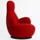 'Oppo' high-back chair by Stefan Borselius
