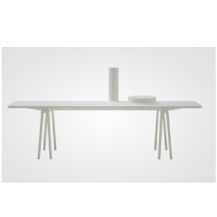 Console with Bowl, cappellini, table