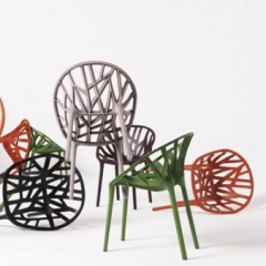 Vegetal Chair for Vitra by Ronan & Erwan Bouroullec  – 2009