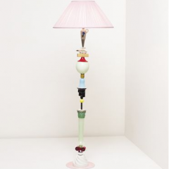 'Over The Hills and Far Away' floor lamp by Committee