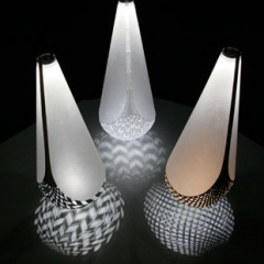 Kete lights by David Trubridge 2009 - Sustain Me - Sydney Design Festival 2009