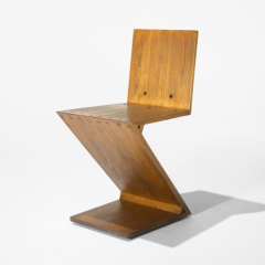 Zig Zag chair by Gerrit Rietveld, 1932/c.1960