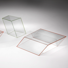 Wireframe Occasional Tables by Piero Lissoni
