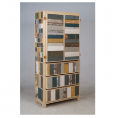 Classic Cabinet in Scrapwood by Piet Hein Eek