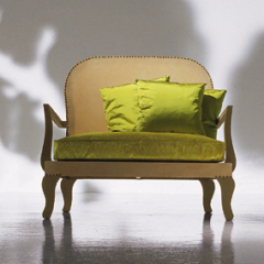 'Gingerbread' armchair by Paola Navone