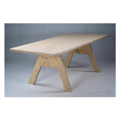 Crisis Table by Piet Hein Eek