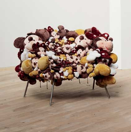 Cartoon Chair by Humberto and Fernando Campana 2007