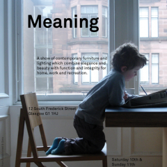 'Meaning' at GOODD Ltd. in Glasgow, April, 2010