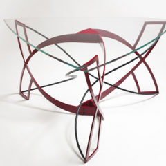 Cassiopeia dining table by Steve Watson