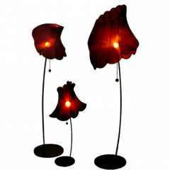 Flown up lamps by Frederike Top - Tuttobene Milan 2008