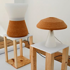 Table Lamp/Lamp by Thomas Kral - Aram Gallery  Photo Credit:Shira Klasmer