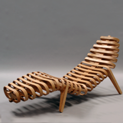 Lounger 1 by Simon Austen- Celebration of Craftsmanship & Design