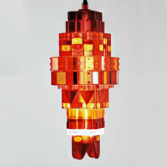 'Tail Light' chandelier by Stuart Haygarth 2007