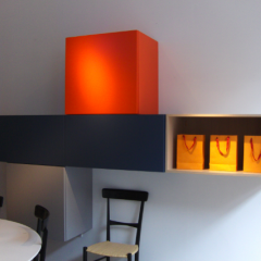 Set of 'Porro' modern wall-mounted storage by Piero Lissoni
