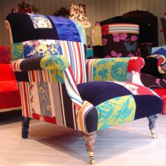 'Bloomsbury Club Chair' by Lisa Whatmough @ Squint London