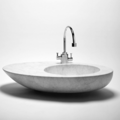 Volevatch sink and faucet in 2010 French Design Forum