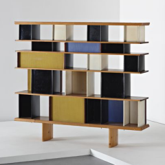 'Mexique' bookcase, 1953 by Charlotte Perriand