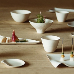 Mint - Kaleidoscope, Sustainable Disposable paper tableware.