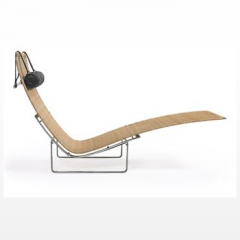 'PK-24' Chaise Longue by Poul Kjaerholm, designed 1965