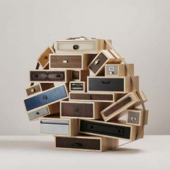 'You Can't Lay Down Your Memories' cabinet by Tejo Remy – Phillips de Pury & Company