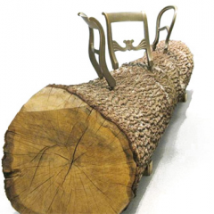 Jurgen Bey Tree Trunk Bench