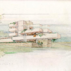 Frank Lloyd Wright Cottage Studio for Ayn Rand