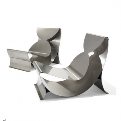 Lounge chairs by Maria Pergay, 1970