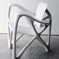 Joris Laarman, Bone Arm Chair, courtesy: Studio Laarman, Photo: Jacob Krupnick