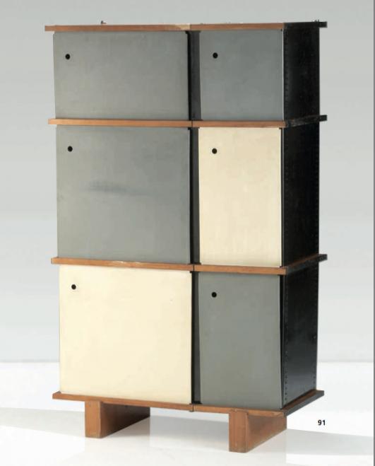 20th century decorative art design auction at christie 39 s paris detnk - Meuble charlotte perriand ...