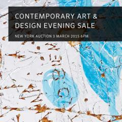 Contemporary Art & Design Evening Sale at Phillips