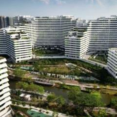 Sustainable high-rise keeps cool in sultry Singapore with passive design and green roofs