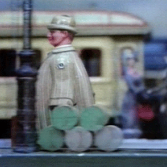 Charles and Ray Eames, Toccata for Toy Trains, 1957. Film still courtesy Eames Office and Pyramid Media
