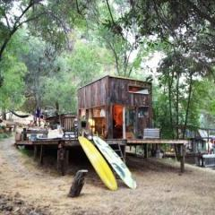 Tiny House in Topanga California by Mason St. Peter