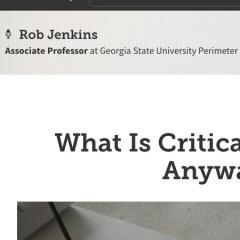 What Is Critical Thinking, Anyway?