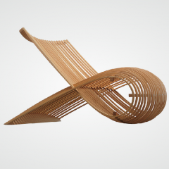 Wooden Chair, marc newson, cappellini