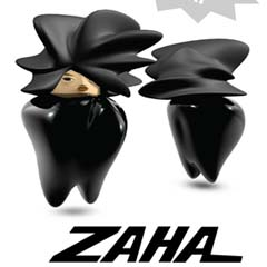 Zaha Hadid Limited Edition Doll - Coming Soon- Olivia Lee