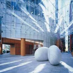 AAA Walks - Aurora Place. Architect: Renzo Piano, sculpture: Ken Yasuda.