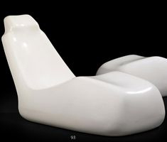 'Moby Dick' chaise by Alberto Rosselli, ca. 1969