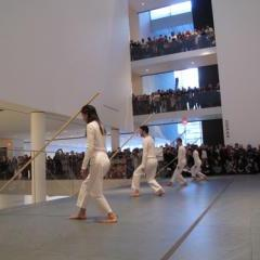 "Trisha Brown Company, ""Sticks"" (1973), Performed at MoMA in 2011."