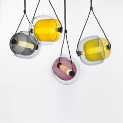 Capsula pendant light by Lucie Koldova for Brokis