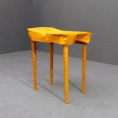 BUCKLING TABLE No 1 (yellow) by Elisa Strozyk & Sebastian Neeb
