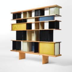 Bookcase From The Maison Du Mexique, Cité Universitaire, Paris by Charlotte Perriand