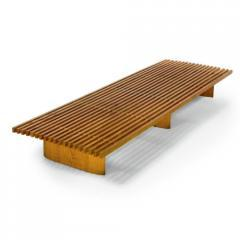 "An Early ""Tokyo"" Bench by Charlotte Perriand"