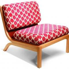 Tio chair with Florence Broadhurst fabric